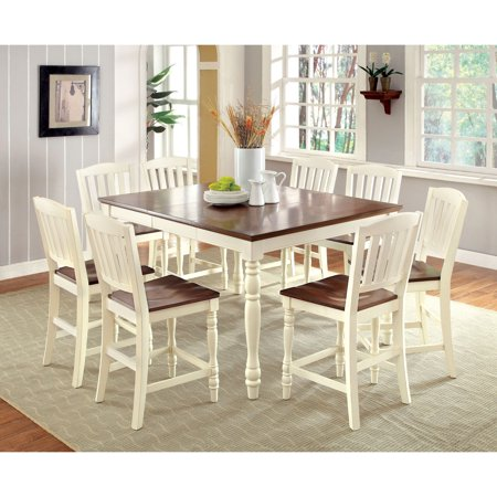 besette cottage 9 piece counter height dining table set