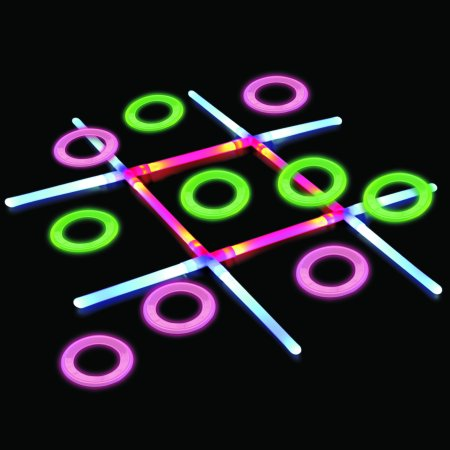 LIGHT UP TIC TAC TOE](Tic Tac Toe Scary Halloween)