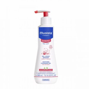 Mustela Baby Soothing Cleansing Body Gel, Sensitive Skin, 10.14 Oz