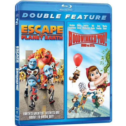 Escape From Planet Earth / Hoodwinked Too!: Hood Vs. Evil (Blu-ray)