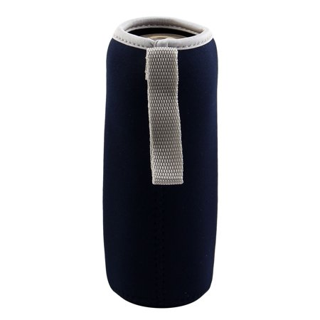 Spandex Heat Insulated Anti Scald Hands Protector Glass Mug Cup Sleeve Navy Blue - image 6 of 6