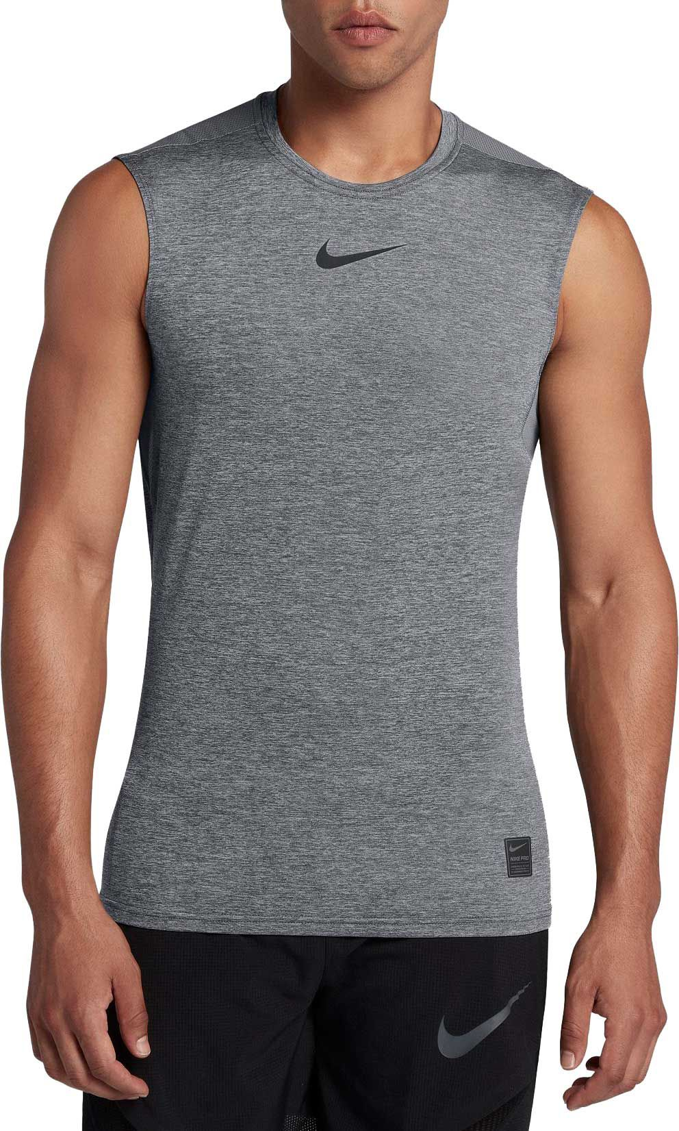 26f0f5eb3 Nike - Nike Pro Men's Fitted Sleeveless Shirt - Walmart.com
