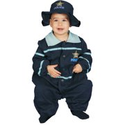 Baby Police officer Bunting Newborn Halloween Costume