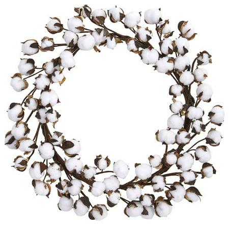 20 Cotton Ball Wreath ()