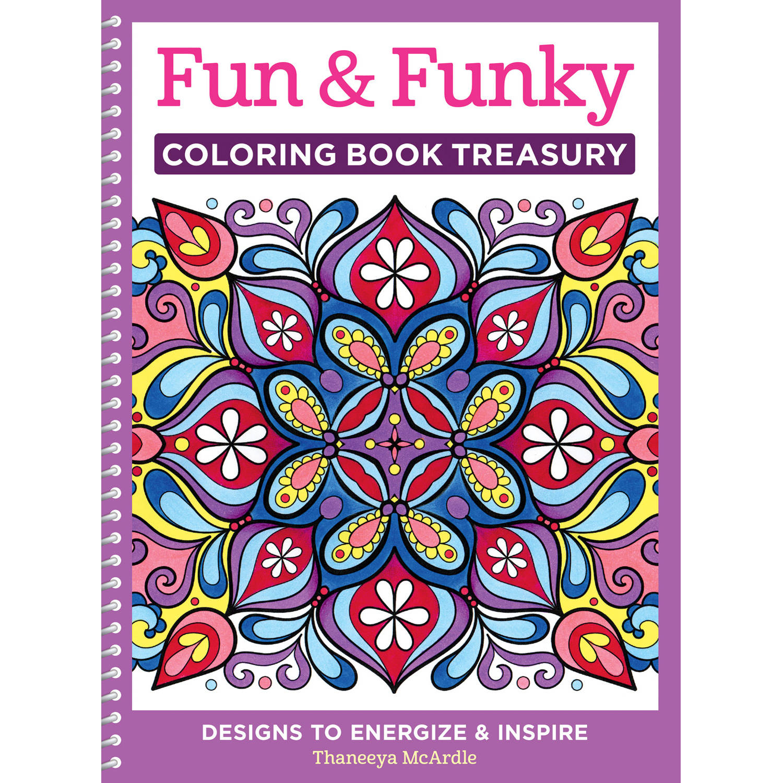 funky coloring book treasury