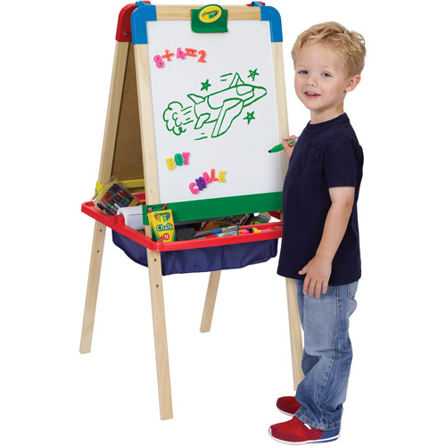 Crayola 3-in-1 Magnetic Wood Easel by Generic