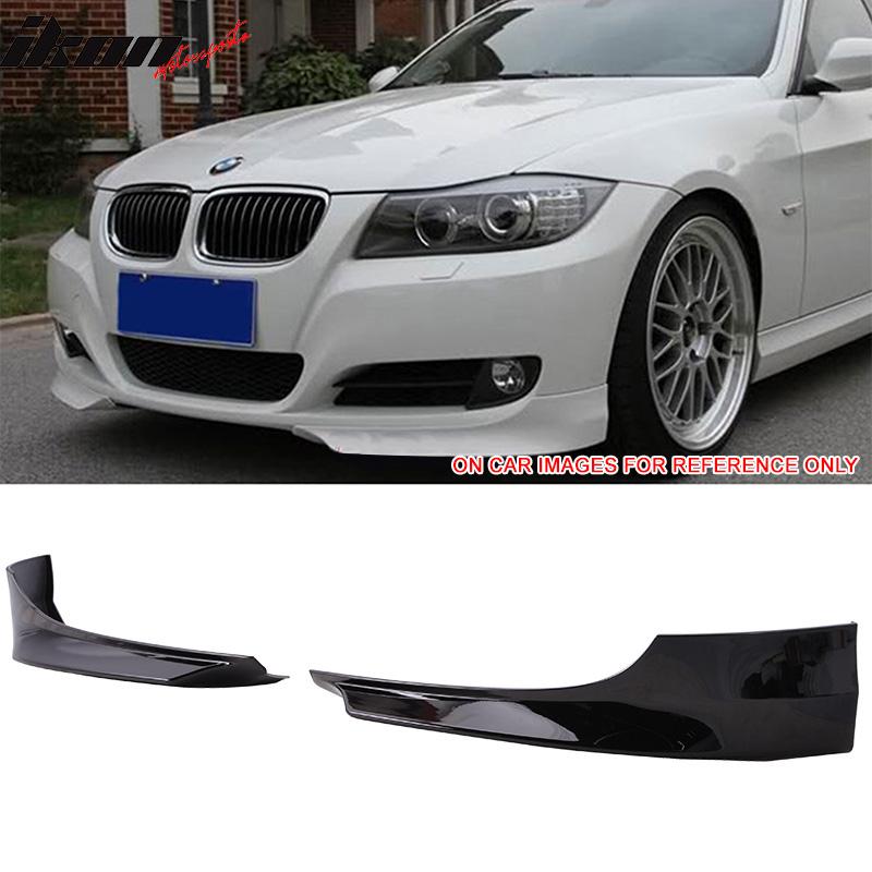 Fits 09-11 BMW 3 Series E90 LCI OE Style PP Front Splitter Lip Spoiler