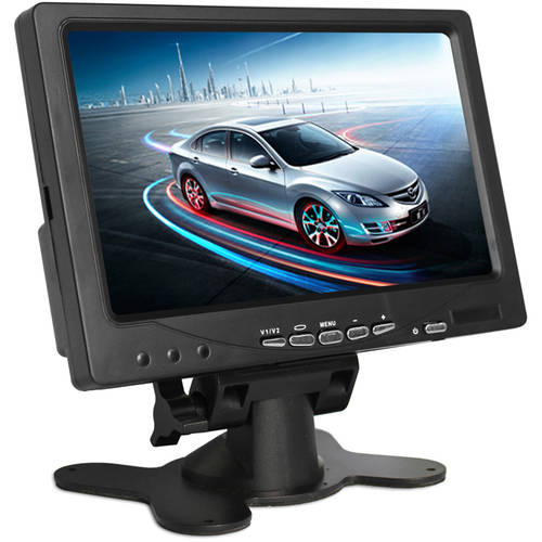 """Parking Monitor Assista Premium 7"""" Inches Rearview Car Lcd Monitor By Pyle"""