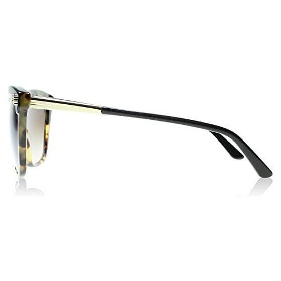 672d869f01204 VERSACE - VERSACE Sunglasses VE 4313 517713 Black  Havana 57MM - Walmart.com