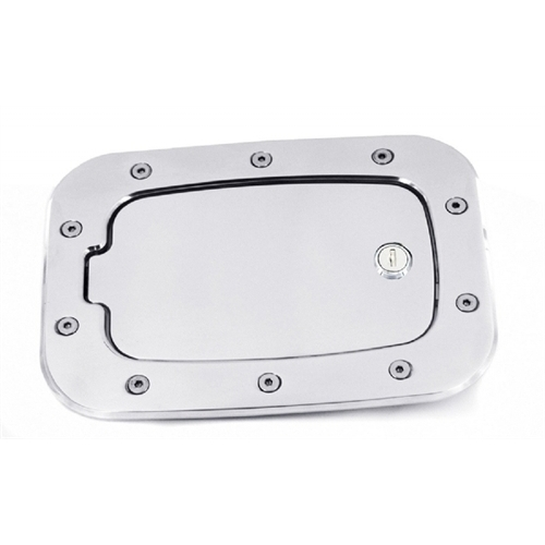 ALL SALES 6058CL 11-14 FORD F250/F350 SUPERDUTY CHROME LOCKING FUEL DOOR
