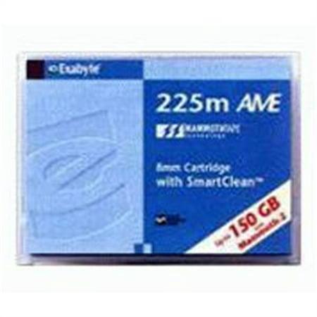 Exabyte Tape, 8mm Mammoth AME, 2, 225m, 60/ 150GB, w/smart cmamln