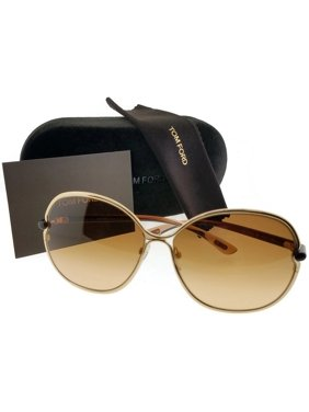 5c425a5ab4ac Product Image Tom Ford FT0222-28A-63 Leila Women s Brown Frame Brown Lens  Genuine Sunglasses