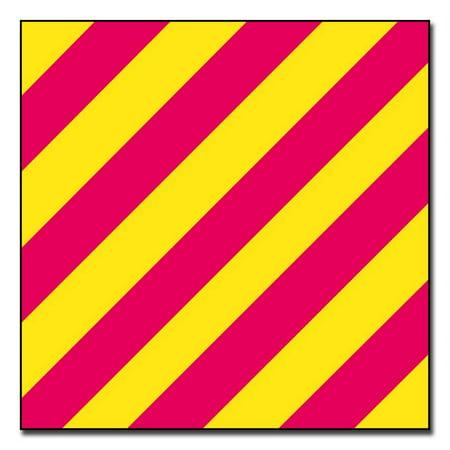 Yankees Stickers (3.8 Inch Yankee Signal Flag Sticker)