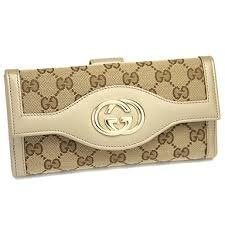 Gucci Original Gg Continental Wallet Beige Off White (Gucci Original Gg Canvas)