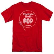 Pop Logo Mens Short Sleeve Shirt RED 4X