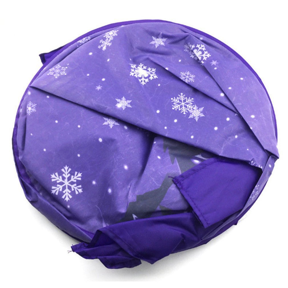 Innovative Magical Dream Tents Kids Pop Up Bed Tent Kid Bedroom Playhouse Winter Wonderland Gift For Children by