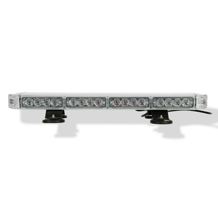(Condor TIR Emergency 3 Watt Low Profile Magnetic Roof Mount Mini LED Light bar 23in (Amber))