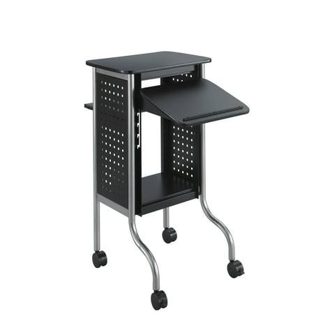 Scoot™ Presentation Cart, Black