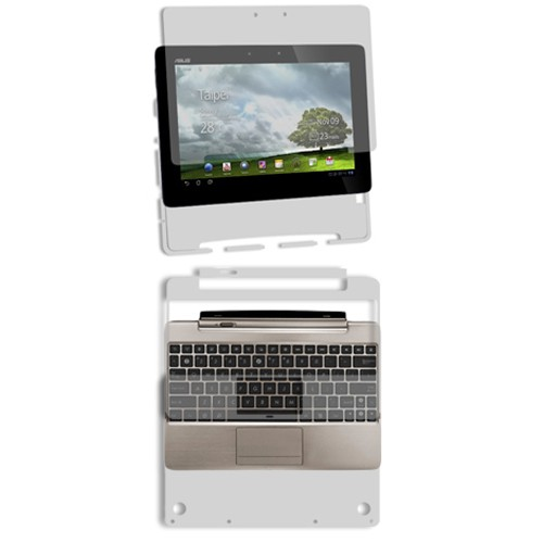 Skinomi Clear Protector Film Cover for Asus EEE Pad Trans...