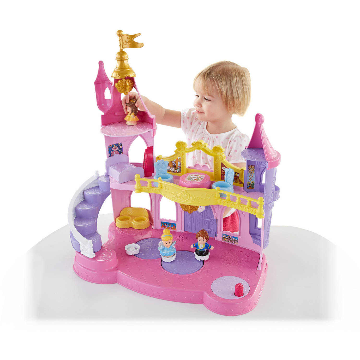 Fisher Price Little People Disney Princess Musical Dancing Palace by Little People