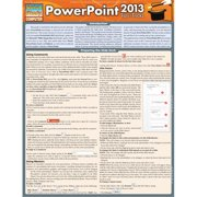 BarCharts 9781423220190 Powerpoint 2013 Tips & Tricks Quickstudy Easel
