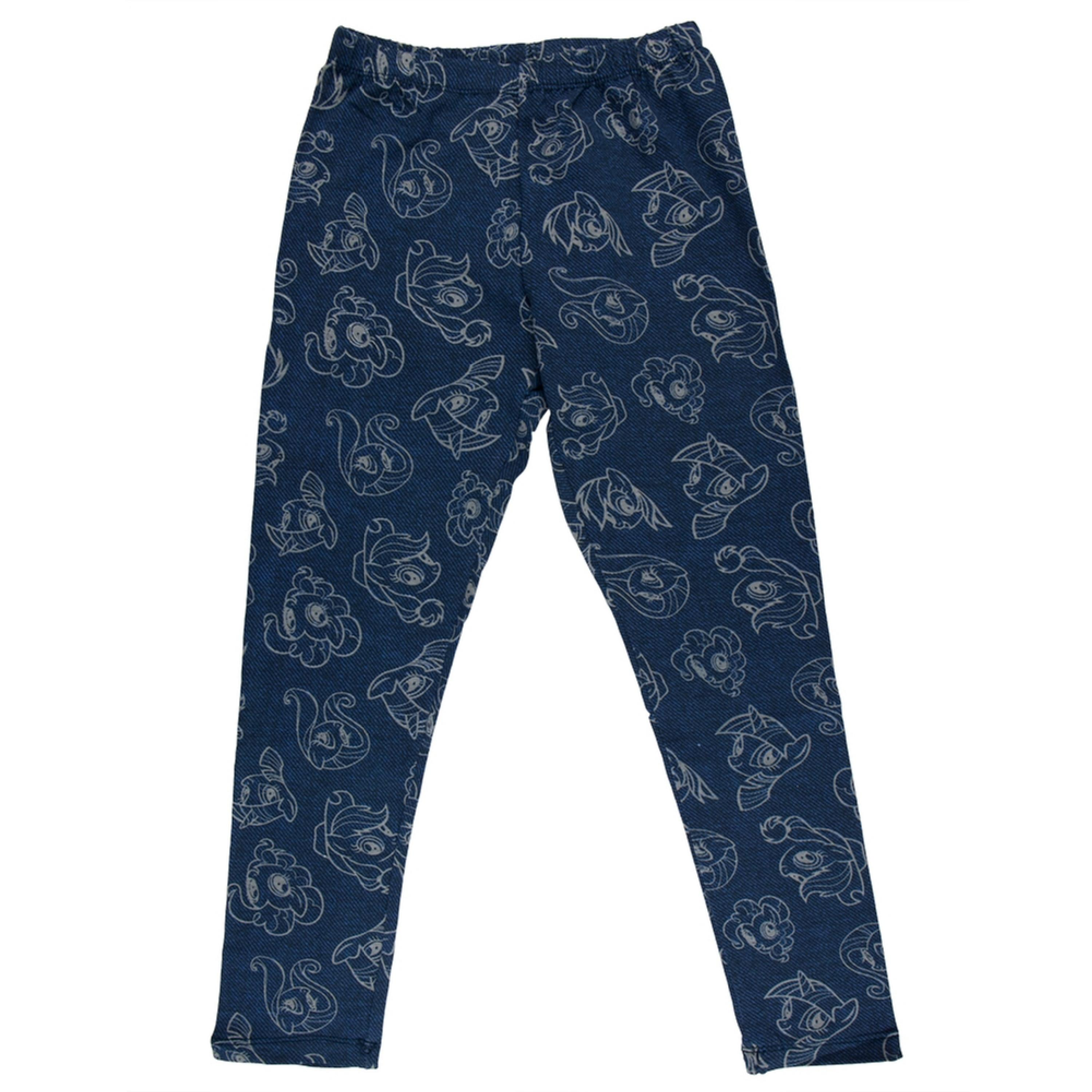 My Little Pony - All-Over Outlines Girls Juvy Leggings