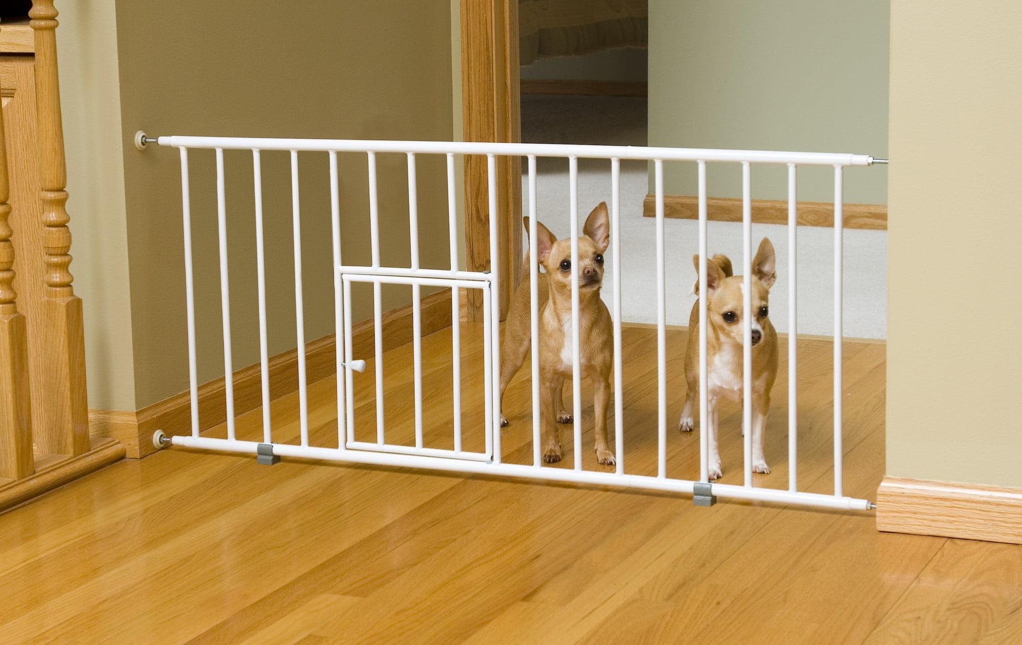 Carlson mini gate with pet door walmart eventelaan Image collections