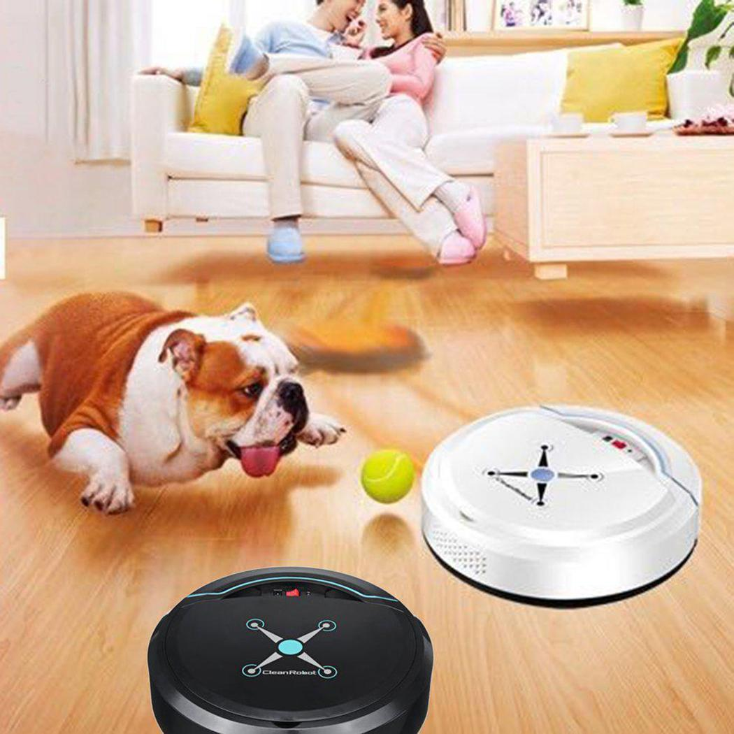 Rechargeable Mini Automatic Induction Sweeping Robot Floor Cleaning Robot Caroj - image 4 of 5
