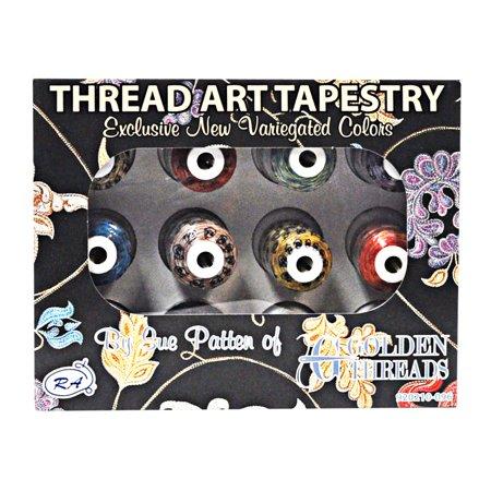 Thread Art Tapestry 12 Mini King Spools