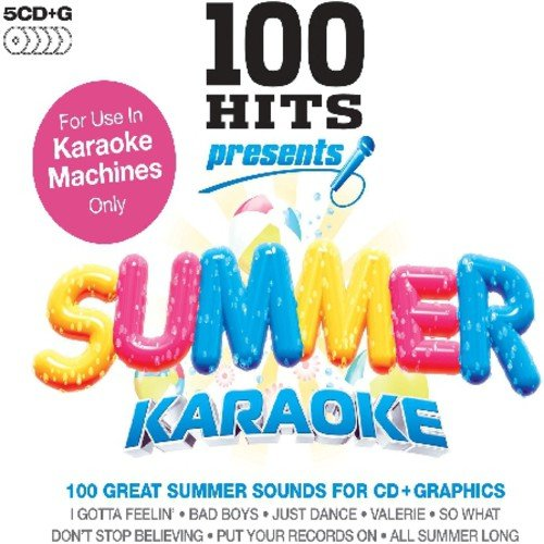 Karaoke: 100 Hits Presents Summer   Various (Box) by ** What Records ***
