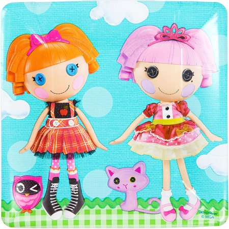 Lalaloopsy Cake Plates (8 Count) - Party Supplies - Lalaloopsy Party Supplies