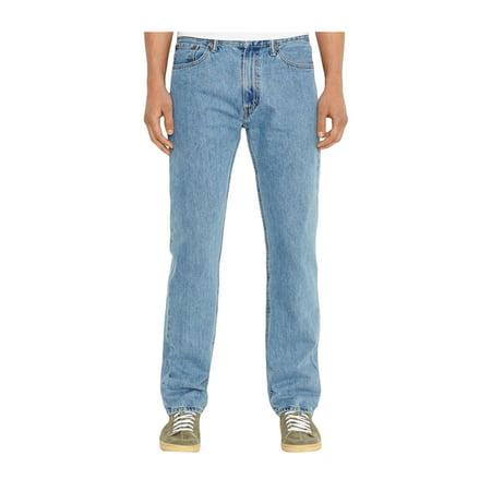 Levi's Mens Cotton Regular Fit Jeans lightstonewash 42x32 - image 1 of 2