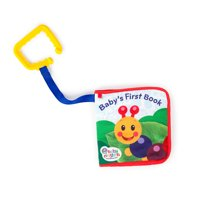 Baby Einstein Explore & Discover Soft Book Take-Along Toy, Ages Newborn +
