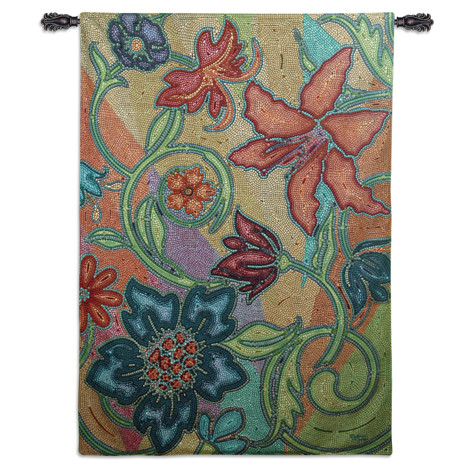 Fine Art Tapestries French Sunflower II Wall Tapestry by Supplier Generic