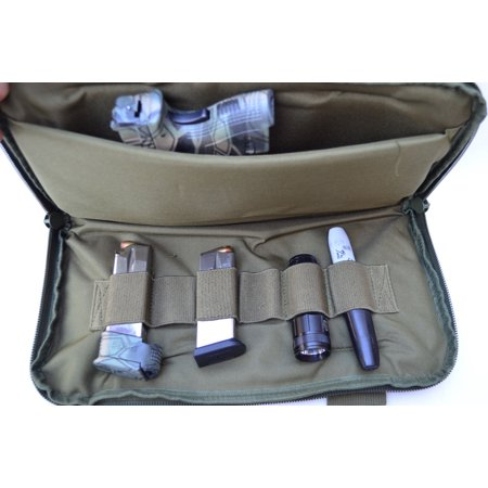 Acid Tactical® Pistol Gun Range bag concealed Carry Pouch for Hand Guns FREESHIP OD Green thumbnail