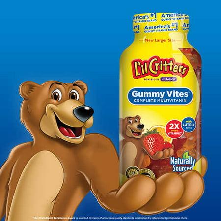 L'il Critters Gummy Vites, 300 Gummy Bears](Party Gummy Bear)