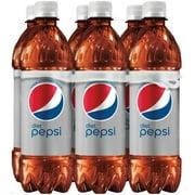 (4 Pack) Diet Pepsi Soda, 16.9 Fl Oz, 6 Count