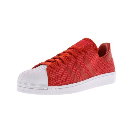 Adidas Men's Superstar Red / Core Pink Footwear White Ankle-High Canvas  Fashion Sneaker - 13M - Walmart.com