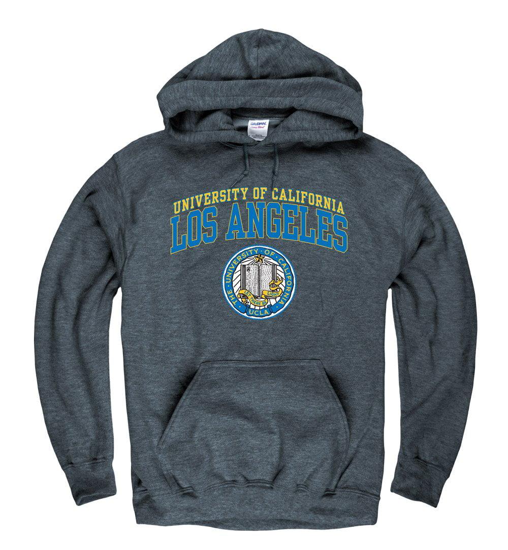 UCLA Double Arch Men's Hoodie Sweatshirt-Charcoal