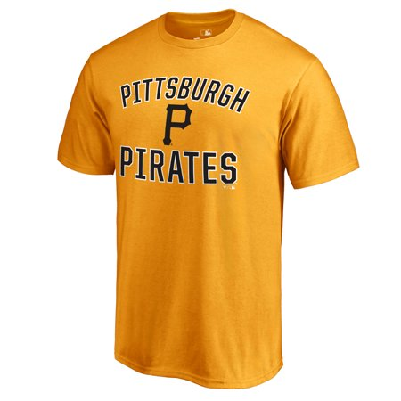 Pittsburgh Pirates Victory Arch T-Shirt - Gold