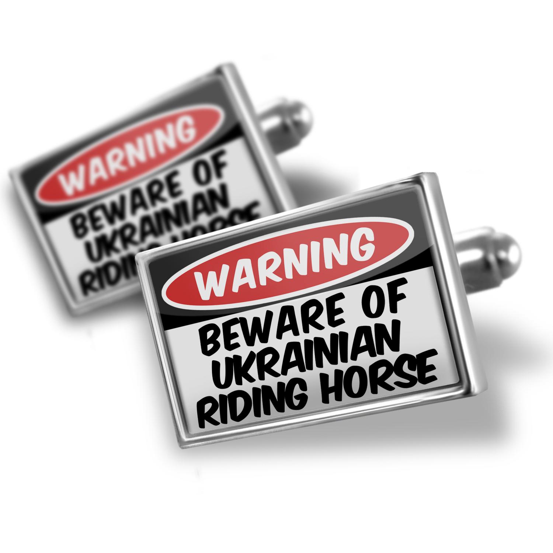 Cufflinks Beware of the Ukrainian Riding Horse - NEONBLOND