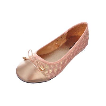Rugged Bear Girls' Flats (Sizes 5 - 10) - Bear Feet Shoes Clearance