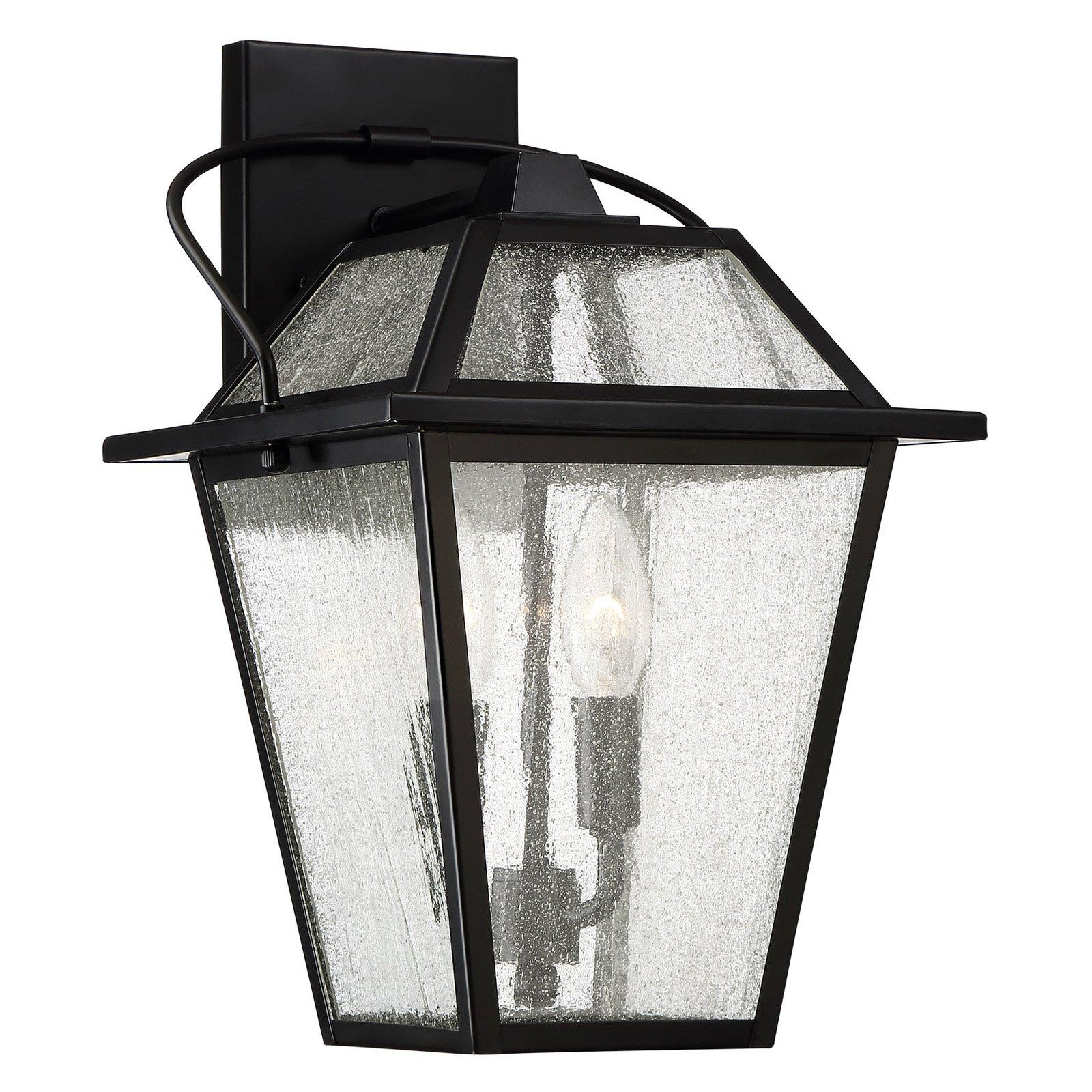Quoizel Black Ridge BRE8409K Outdoor Wall Lantern