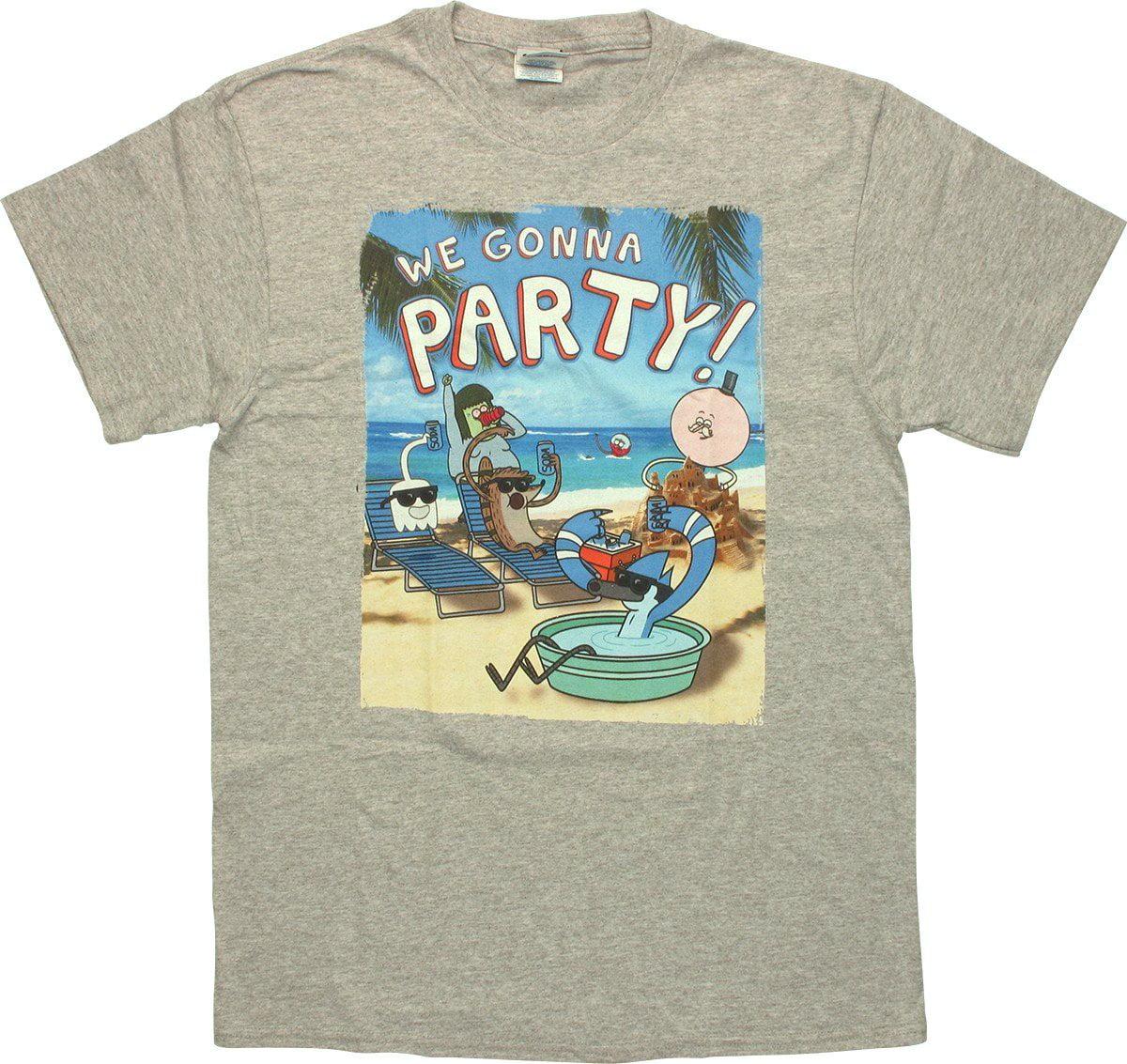 Regular Show Beach Party T Shirt