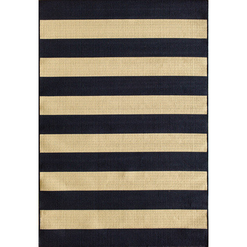 Natco Tributary Awning Stripe Indoor Outdoor Rug Walmart Com