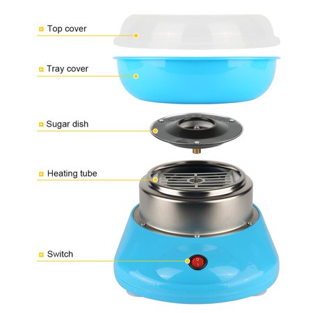 Toytexx Home Mini Portable Electric Candyfloss Making