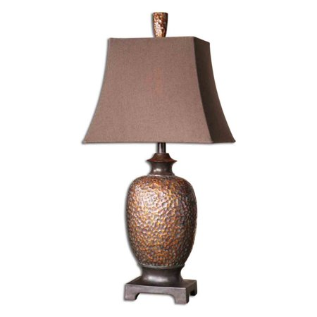 Uttermost Metal Leaves (Uttermost Amarion Table Lamp - 32.5H in. Distressed Bronze)