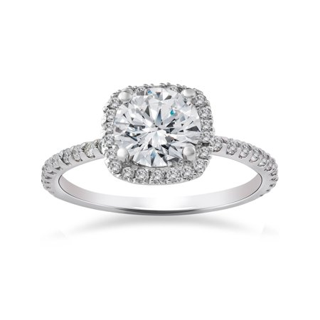 2 CT SI/G Round Cut Diamond Solitaire Engagement Ring White Gold 2 Ct Diamond Solitaire Engagement Ring