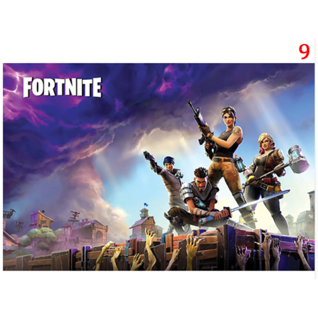 poster fortnite game batle 24x36 inches standard size new ps4 xbox walmart com - fortnite posters walmart