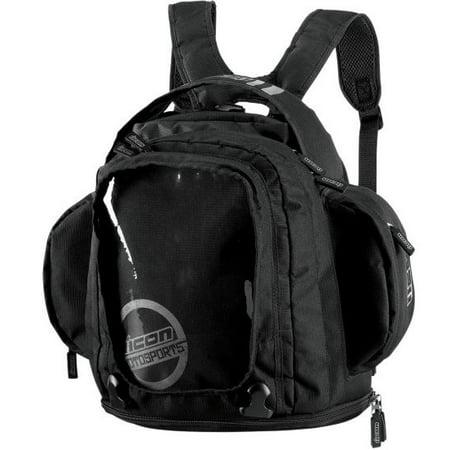 Icon Urban Tank Bag Backpack Black